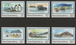 Ross-Gebiet 1982 - MiNr. 15-20 - Postfrisch - Ross Dependency (New Zealand)