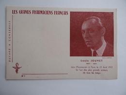 BUVARD Les GRANDS PHARMACIENS FRANCAIS Louis JOUVET 1887 1951 Acteur Pharmacie Pharmacien - Produits Pharmaceutiques