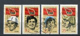 DDR Nr.1675/8         O  Used       (21477) ( Jahr: 1971 ) - DDR