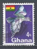 Ghana 1967. Scott #291 (U) Rufous-crowned Roller, Bird * - Ghana (1957-...)
