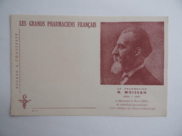 BUVARD Les GRANDS PHARMACIENS FRANCAIS H.MOISSAN 1852 1907 Pharmacie Pharmacien - Produits Pharmaceutiques