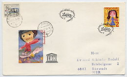 CZECHOSLOVAKIA 1982 UNESCO Ex Block On   FDC.  Michel 2660 - FDC