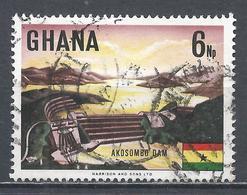 Ghana 1967. Scott #292 (U) Akosombo Dam, Volta River * - Ghana (1957-...)