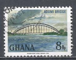 Ghana 1967. Scott #293 (U) Adomi Bridge, Volta River * - Ghana (1957-...)