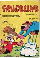 """Frugolino (Ed. Del Fanciullo 1976)  """"Serie D'Oro"""" N. 26 - Humor"""