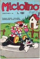 Miciolino (Del Fanciullo 1975) N. 26 - Humor