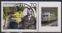 """Österreich 2013: """"Julius Lott"""" Gestempelt (siehe Foto/Scan) - 1945-.... 2ème République"""