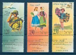 Israel - 2001, Michel/Philex No. : 1637-1639 - MNH - *** - - Israel