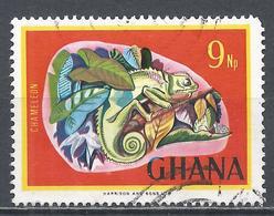 Ghana 1967. Scott #294 (U) Chameleon * - Ghana (1957-...)