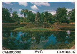 1 AK Kambodscha * Der Tempelturm Auf Der Künstlichen Insel Neak Pean - Erbat Im 12. Jahrhundert Bei Der Stadt Siem Reap - Kambodscha