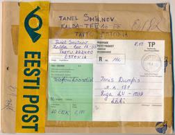 Registered Petit Paquet Small Package - 19 August 1997 Tartu-10 To Latvia - Estonia