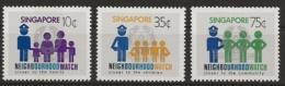 Singapur 1983 - MiNr. 426-428 - Postfrisch - Singapour (1959-...)