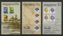 Singapur 1983 - MiNr. 429-431 - Postfrisch - Singapour (1959-...)