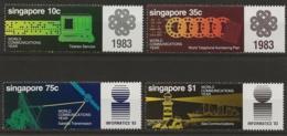 Singapur 1983 - MiNr. 436-439 - Postfrisch - Singapour (1959-...)