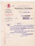 75-Panhard-Levassor Voitures Automobiles-Moteurs-Machines-Outils....Paris XII ème 1927 - Cars