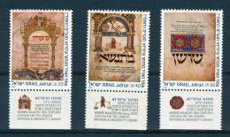 Israel - 1986, Michel/Philex No. : 1043/1044/1045, - MNH - *** - - Israel