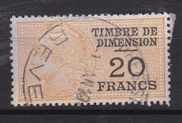Timbre De Dimension  N° 155° - Fiscaux
