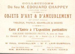 OBJET D ARTS D AMEUBLEMENT - Cartes De Visite