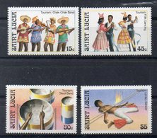 SAINTE LUCIE Timbres Neufs ** De 1986  ( Ref 5843 ) Tourisme - St.Lucie (1979-...)