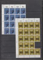 Deutschland BRD **  344, 345, 336, 346 Bogenteile Katalog 86,00 - BRD