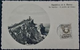 Cartolina SAN MARINO - Il Profilo Del Titano - San Marino