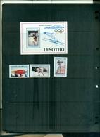 LESOTHO  J.O.ALBERTVILLE 3  VAL+ BF NEUFS A PARTIR DE 1.25 EUROS - Hiver 1992: Albertville