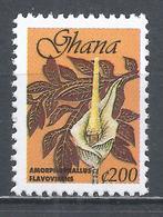 Ghana 1999. Scott #2104A (MNH) Amorphophallus Flavovirens ** - Ghana (1957-...)