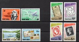 SAINTE LUCIE Timbres Neufs ** De 1979-80  ( Ref 5846 ) Lindbergh - Rowland Hill - St.Lucia (1979-...)