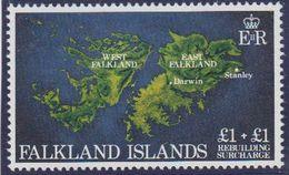 Falkland Islands 1982 Rebuilding Fund 1v  ** Mnh (41458) - Falklandeilanden