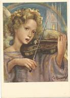 V3203 Illustrazione Illustration Zandrino - Angeli - Bambini - Enfants - Children - Kinder - Nino / Non Viaggiata - Zandrino