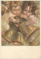 V3205 Illustrazione Illustration Zandrino - Angeli - Bambini - Enfants - Children - Kinder - Nino / Non Viaggiata - Zandrino