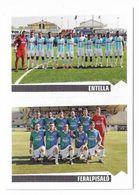 CALCIATORI PANINI 2012 - 2013  N.680  SQUADRA ENTELLA FERALPISALO - Edizione Italiana