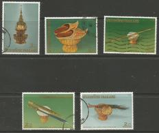 Thailand - 1988 King Bhumibol Anniversary Used   Sc 1254-8 - Thailand