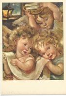 V3206 Illustrazione Illustration Zandrino - Angeli - Bambini - Enfants - Children - Kinder - Nino / Non Viaggiata - Zandrino