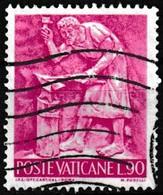 Timbre-poste Oblitéré - Iron Art - N° 449 (Yvert) - Poste Vaticane 1966 - Oblitérés
