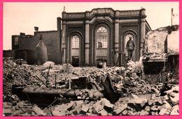 Cp Photo 13,5 * 8,5 - Rotterdam - Mei 1940 - De Oude Beurs - L'Ancienne Bourse - Bombardement - Foto S.G. BRUSSE - Rotterdam