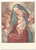 V3207 Illustrazione Illustration Zandrino Angeli Bambini Enfants Children Kinder Nino - La Maternità / Non Viaggiata - Zandrino