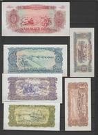 VIETNAM  1976  COMPLETE SET OF 6  BANKNOTE  Pick N° 79/84   TTB+. Réf  79/81 - Viêt-Nam