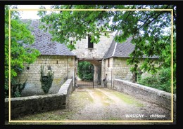 08  WASIGNY  ... Entree Du Chateau - Frankreich