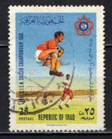 IRAQ - 1968 - CAMPIONATO DI CALCIO - USATO - Iraq