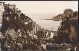 Monaco - Le Ravin De Ste. Devote Et Vue Sur La Pointe Du Rocher - HP1550 - Monaco