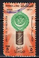 IRAQ - 1966 - SETTIMANA DELLA LEGA' ARABA - USATO - Iraq