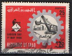 IRAQ - 1966 - FESTA DEL LAVORO - 1° MAGGIO - USATO - Iraq