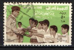 IRAQ - 1961 - GIORNATA MONDIALE DEL FANCIULLO - ABDUL KARIM KASSEM - USATO - Iraq
