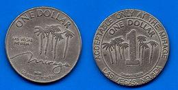 USA 1 Dollar Casino Mirage Las Vega Nevada Etats Unis Skrill Paypal Bitcoin OK! - Émissions Fédérales