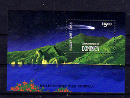 1986   Dominique, Comète De Halley, BF 108 **, Cote 8 € - Astronomie