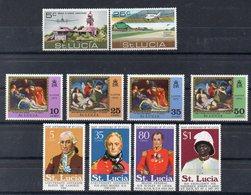 SAINTE LUCIE Timbres Neufs ** De 1971-1974  ( Ref 5848 ) - St.Lucia (1979-...)