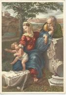 V3215 Pompeo Batoni - Sacra Famiglia - Presepio Presepe - Dipinto Paint Peinture - Pittura & Quadri