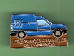 EDF-GDF *** LES AGENCES CLIENTELES DE L'AMIENOIS *** EDF-02 - EDF GDF