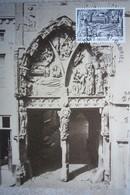 Carte  Maximum / Huy / La Nativité Du Portail De Bethléem De Notre Dame - Hoei